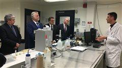Le Centre de recherche sur les biotechnologies marines reçoit 3,7 millions $