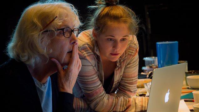 La dramaturge Joan MacLeod et la comédienne Lili Beaudoin
