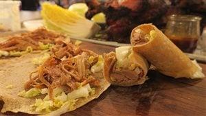Épaule de porc sino-québécoise