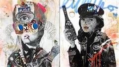 Stikki Peaches, ou l'art de rue qui réimagine la culture populaire