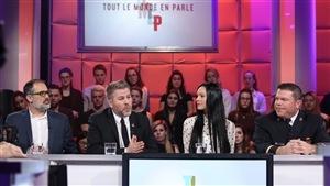 Marc Brière, Pascal Bérubé, Caroline Duval et Christian Legault