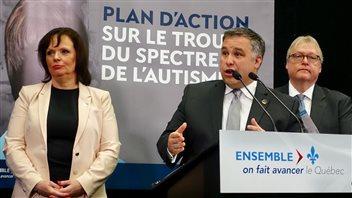 Québec présente son plan d'action sur le trouble du spectre de l'autisme