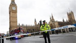 Une attaque près du parlement sème la terreur au cœur de Londres