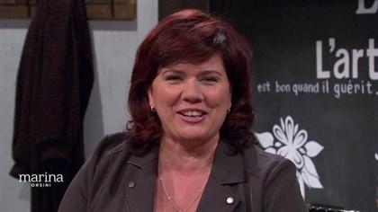 Marina Orsini sourit