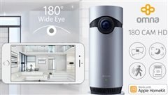 La techno avec Carl-Edwin Michel:le Apple Home Kit et le Omna 180 HD