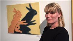 La peintre Henni Alftan expose à la Gallerie Z