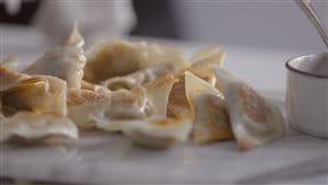 Dumplings au pâté chinois