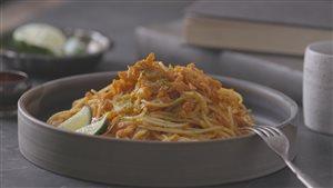 Spaghetti pad thaï