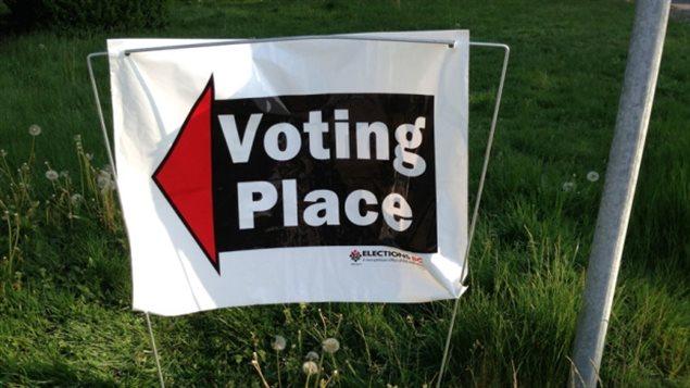 La campagne électorale provinciale.