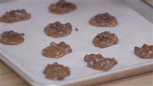 Biscuits au beurre d'amande, à la banane et au chocolat (sans farine)