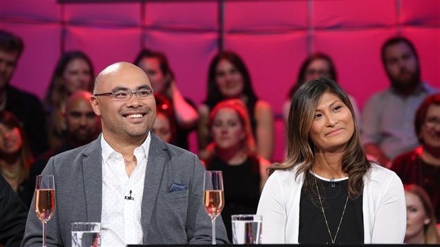 Paul-André Brissette et Jouhaïnna Lebel