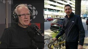 Marc Masson et Éric Lefol, deux fransaskois adeptes de vélo.