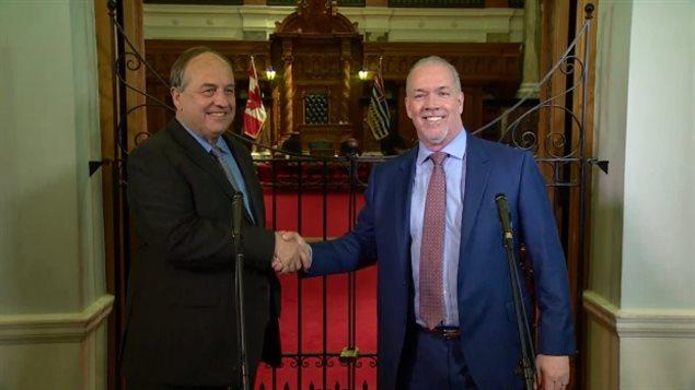 Entente NPD-Parti Vert à Victoria