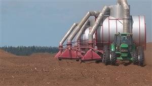 Les tourbières fournissent une ressource importante pour le marché de l'horticulture.