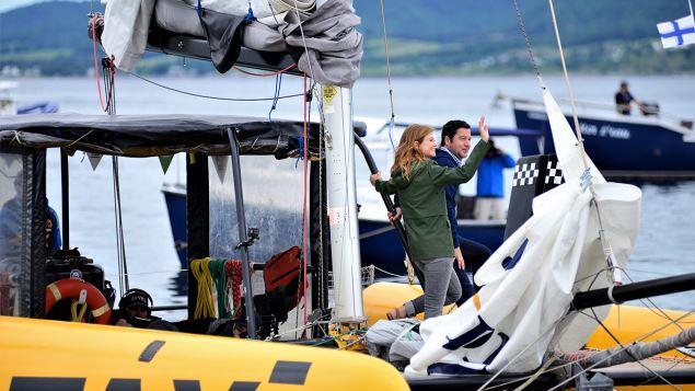 Katherine Levac est à Carleton-sur-Mer