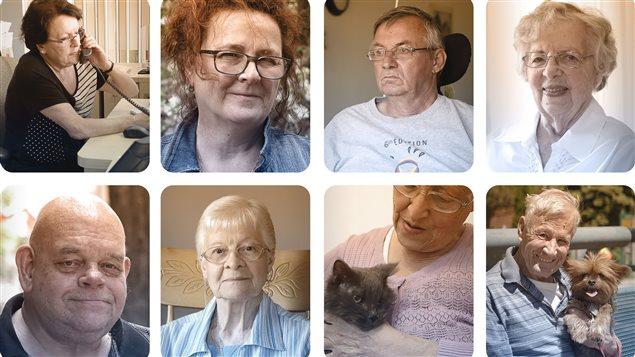 Les visages de la vieillesse