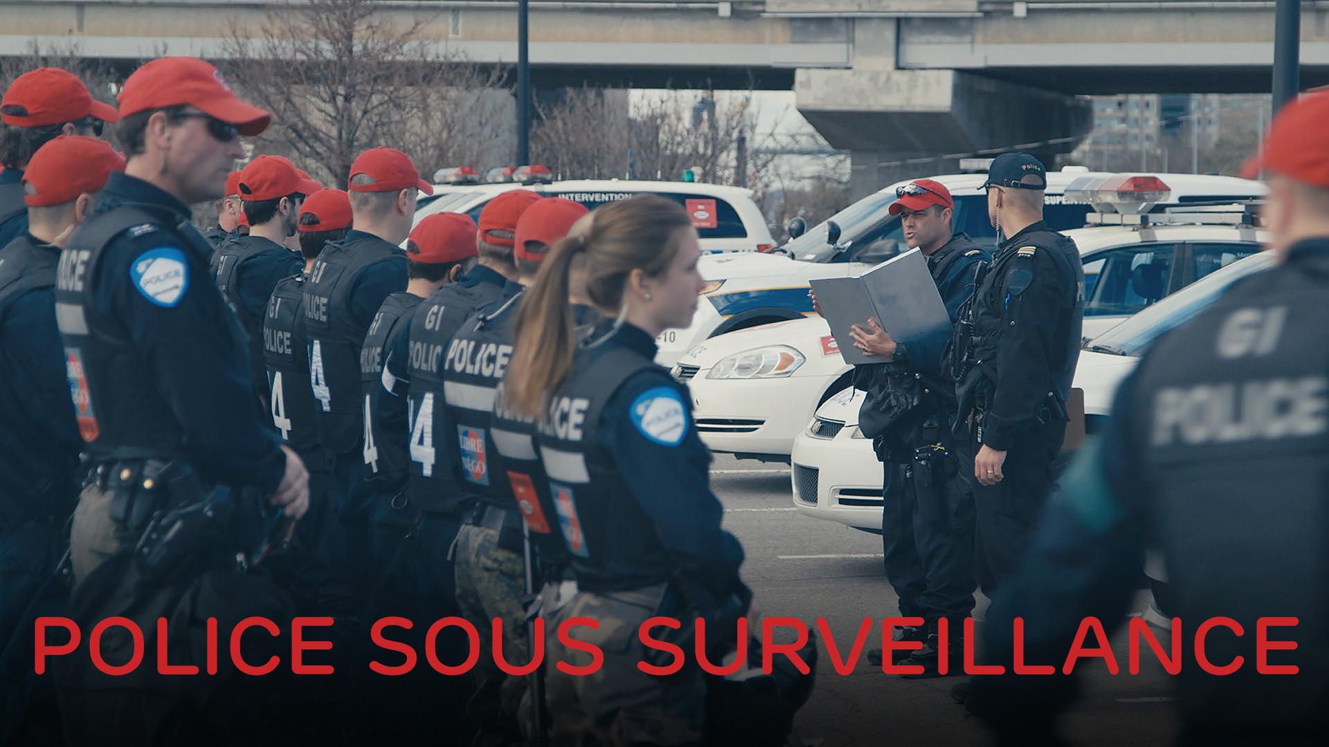 Les policiers d'aujourd'hui font face à une nouvelle réalité : la pression sociale par des citoyens qui les ont à l'œil