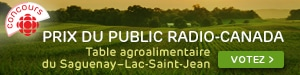 Concours - Table agroalimentaire Saguenay-Lac-Saint-Jean