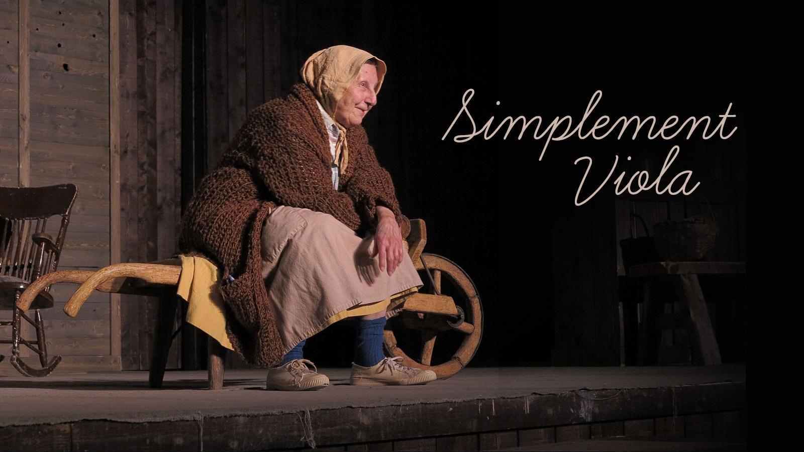 À 85 ans, Viola Léger incarne toujours la Sagouine. À l'aube d'une nouvelle série de spectacles, l'Acadienne ressent une grande fébrilité