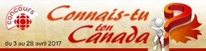 Concours | Connais-tu ton Canada?