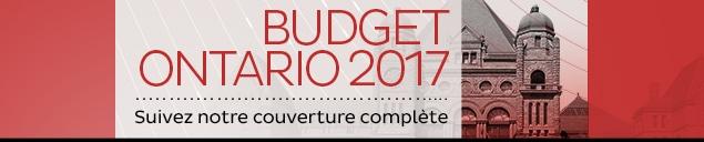 Budget Ontario 2017