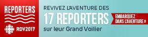 Suivez les 17 reporters RDV2017