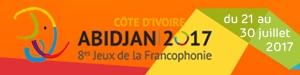 Les VIIIes Jeux de la Francophonie à Abidjan en Côte d'Ivoire
