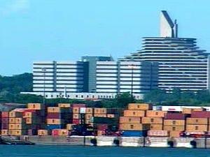 Vue du Port de Montréal