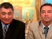 Le Dr Horacio Arruda et Guy Auclair, du MAPAQ