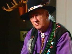 Max Gros-Louis, ancien chef de la nation huronne-wendate