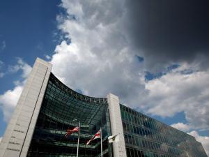 Le siège de la Securities Exchange Commission à Washington