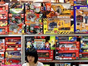 Une boutique de jouets en Chine