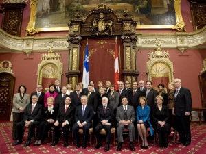 Le Cabinet de décembre 2008