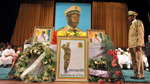Funérailles du président Lansana Conté