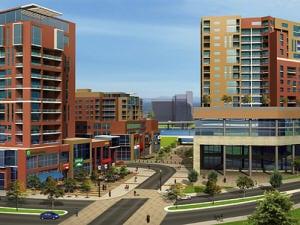 La maquette du projet Griffintown