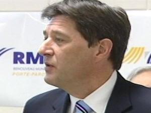 Le chef du RMQ Alain Loubier