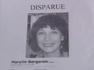 Marylin Bergeron a disparu depuis un an.