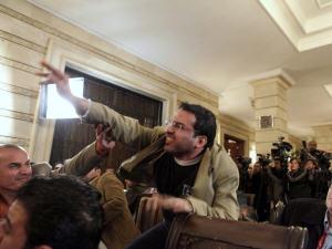 Le journaliste irakien Mountazer Al-Zaidi