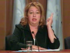 Sylvie Roy, chef par intérim de l'ADQ
