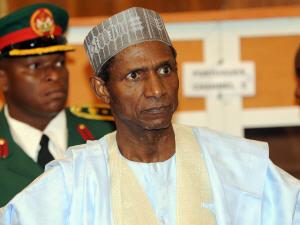 Le président nigérian Umaru Yar'Adua