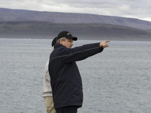 Stephen Harper dans le Grand Nord