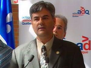 Éric Caire, député de l'Action démocratique du Québec