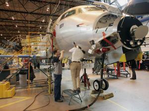 Chaîne de montage chez Bombardier