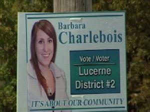 Pancarte de Barbara Charlebois