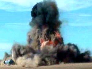 La GRC a recréé l'explosion d'une tonne de nitrate d'ammonium (archives).