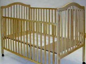 Un des lits pour bébés visés par le rappel