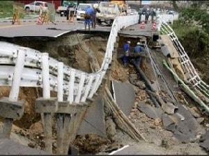 La photo de National Geographic prise au Japon, en 2004, et présentée comme une image de la catastrophe en Haïti
