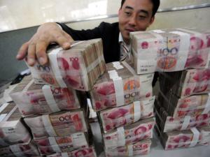 Des billets de 100 yuans