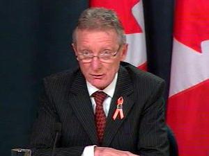 Pierre-Hugues Boisnevu lors de sa nomination au Sénat