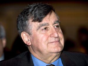 L'ex-premier ministre du Québec Lucien Bouchard, à l'assemblée annuelle de Transcontinental, à Montréal, le 18 février 2010